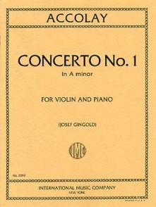 ACCOLAY J.B. CONCERTINO N°1 VIOLON