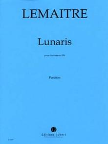 LEMAITRE D. LUNARIS CLARINETTE SOLO