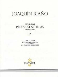 RIANO J. SEGUNDAS PIEZAS SENCILLAS VOL 2 GUITARE