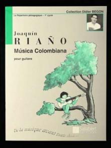 RIANO J. MUSICA COLOMBIANA GUITARE
