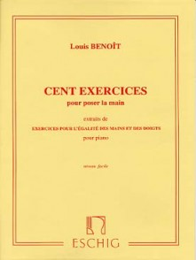 BENOIT L. EXERCICES VOL 1 PIANO