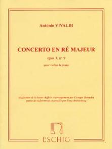 VIVALDI A. CONCERTO OP 3 N°9 VIOLON