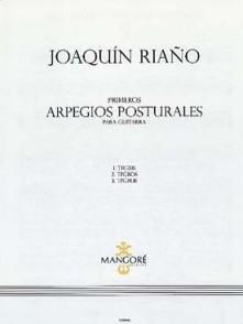 RIANO J. PRIMEROS ARPEGIOS POSTURALES GUITARE