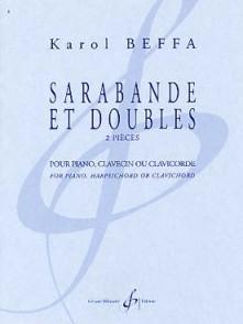 BEFFA K. SARABANDE ET DOUBLES PIANO, CLAVECIN OU CLAVICORDE