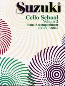 SUZUKI CELLO SCHOOL VOL 2 ACCOMPAGNEMENT PIANO