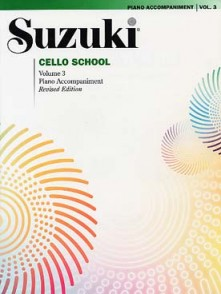 SUZUKI CELLO SCHOOL VOL 3 ACCOMPAGNEMENT PIANO