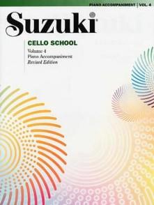 SUZUKI CELLO SCHOOL VOL 4 ACCOMPAGNEMENT PIANO