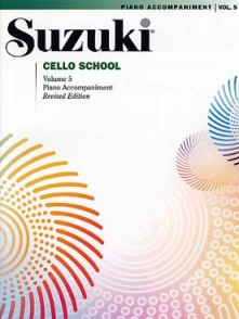 SUZUKI CELLO SCHOOL VOL 5 ACCOMPAGNEMENT PIANO