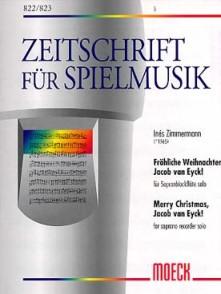 ZIMMERMANN I. MERRY CHRISTMAS FLUTE A BEC