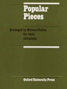 FORBES W. POPULAR PIECES ALTO