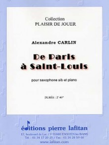 CARLIN A. DE PARIS A SAINT LOUIS SAXO TENOR