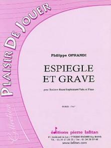 OPRANDI P. ESPIEGLE ET GRAVE SAXHORN BASSE