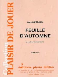 MEREAUX M. FEUILLE D'AUTOMNE TROMBONE