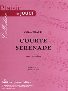 BRATTI C. COURTE SERENADE ACCORDEON