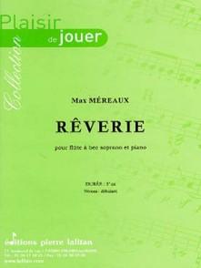 MEREAUX M. REVERIE FLUTE A BEC SOPRANO