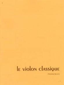 LE VIOLON CLASSIQUE 3ME RECUEIL