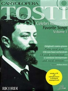 TOSTI F.P. CELEBRI ROMANZE VOL 1 CHANT