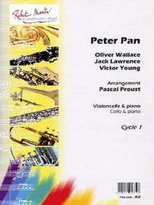 WALLACE O./LAWRENCE J./YOUNG V. PETER PAN VIOLONCELLE PIANO