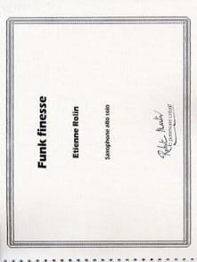 ROLIN E. TEINTES SAXOPHONES