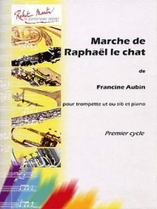 AUBIN F. MARCHE DE RAPHAEL LE CHAT TROMPETTE