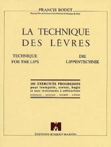 BODET F. LA TECHNIQUE DES LEVRES TROMPETTE