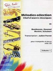 MELODIES SELECTIONS 2 VOLUMES TROMPETTE