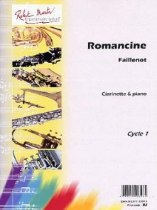 FAILLENOT M. ROMANCINE CLARINETTE