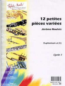 NAULAIS J. PETITES PIECES VARIEES EUPHONIUM UT