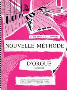 PIERRONT N./BONFILS J. NOUVELLE METHODE D' ORGUE VOL 2