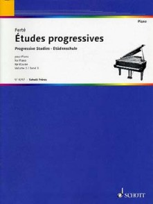 FERTE A. ETUDES PROGRESSIVES VOL 3 PIANO
