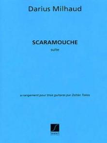 MILHAUD D. SCARAMOUCHE GUITARES