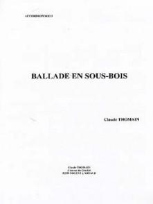 THOMAIN C. BALLADE EN SOUS BOIS ACCORDEON