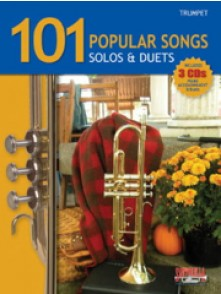101 POPULAR SONGS SOLOS & DUETS TROMPETTE