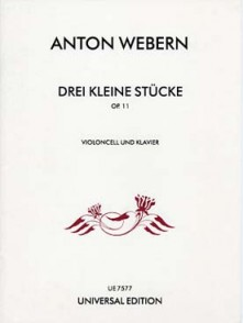 WEBERN A. KLEINE STUCKE OP 11 VIOLONCELLE