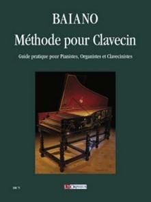 BAIANO E. METHODE DE CLAVECIN