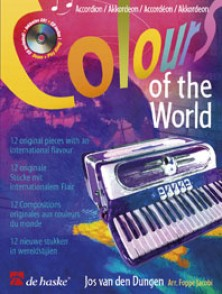 DUNGEN COLOURS OF THE WORLD ACCORDEON