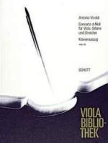 VIVALDI A. CONCERTO RE MINEUR ALTO GUITARE PIANO