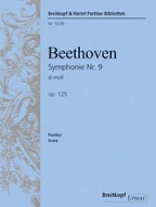 BEETHOVEN L. SYMPHONIE NR 9 OP 125 FINAL CHANT PIANO