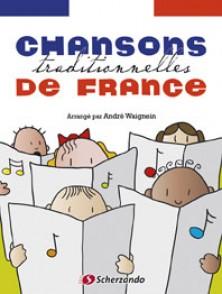 CHANSONS TRADITIONNELLES DE FRANCE SAXO ALTO