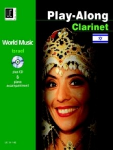 PLAY-ALONG ISRAEL CLARINETTE