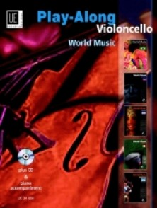 PLAY-ALONG VIOLONCELLO WORLD MUSIC