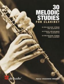CRASBORN-MOOREN P. 30 MELODIC STUDIES CLARINETTE