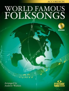 WORLD FAMOUS FOLKSONGS ACCORDEON