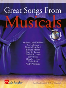 GREAT SONGS FROM MUSICALS SAXO ALTO OU TENOR