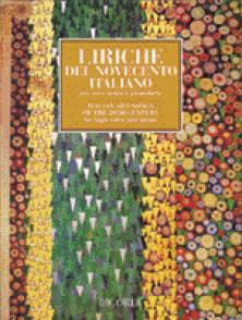 LIRICHE DEL NOVECENTO ITALIANO VOCE ACUTA CHANT PIANO