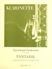 NEUKOMM S. FANTASIE CLARINETTE BASSE