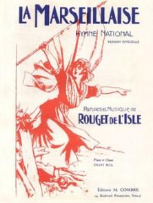 ROUGET DE L'ISLE LA MARSEILLAISE HYMN NATIONAL CHANT