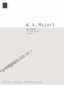 MOZART W.A. SIX DUETS VOL 1 FLUTES