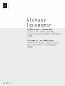 IGUDESMAN A. PICTURES OF AN INHIBITION QUATUOR