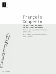 COUPERIN F. ROSSIGNOL EN AMOUR - ROSSIGNOL EN VAINQUEUR FLUTE A BEC